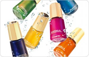 Mavala nail polish at Peaches Colinton.