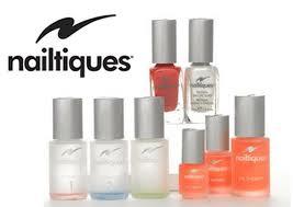 nailtques nail care range at Peaches Colinton Beauty Salon