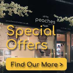 Special Offers from Peaches Colinton